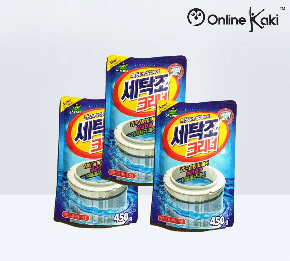 Sandokkaebi Washing Machine Tub Cleaner 韩国山小怪洗衣机粉