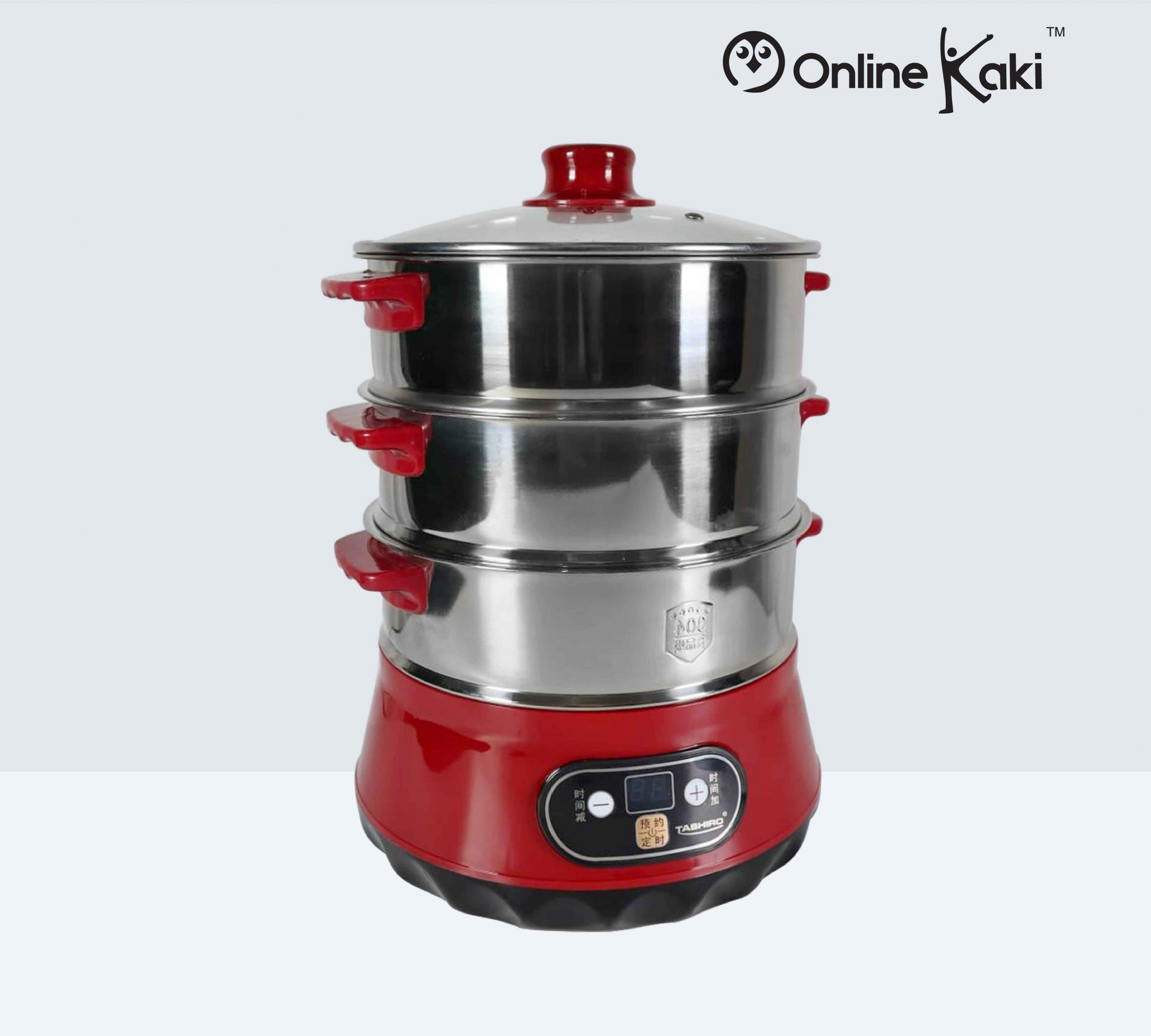 TASHIRO TH-1481 Multifunctional Electric Food Steamer 快速电蒸锅
