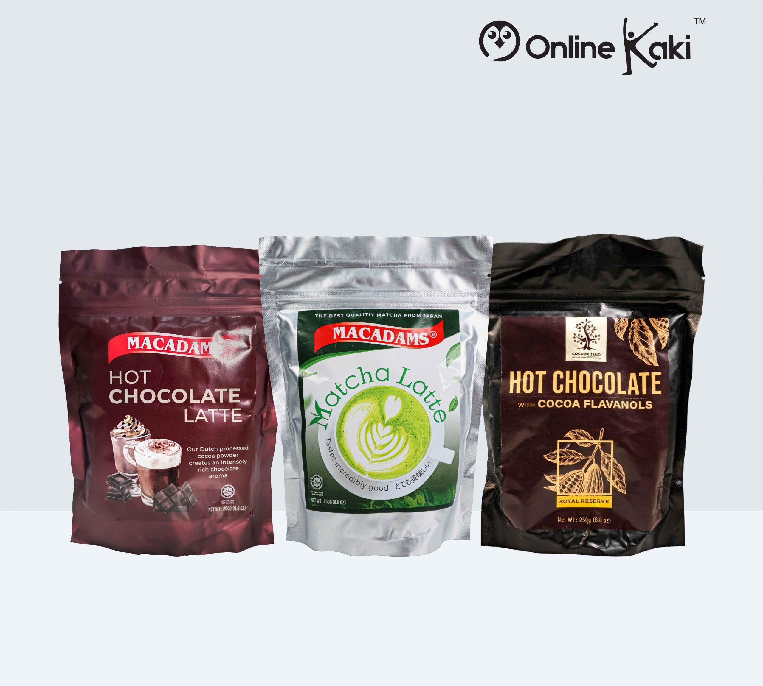 Chocolate Latte / Latte Matcha